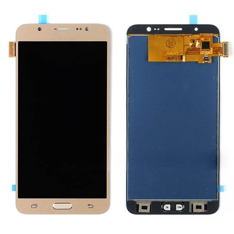 LCD SAMSUNG J7(2016) J710 + Touch Gold OLED MOQ:5