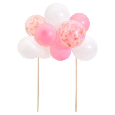 Топпер для торта и еды розовые шары