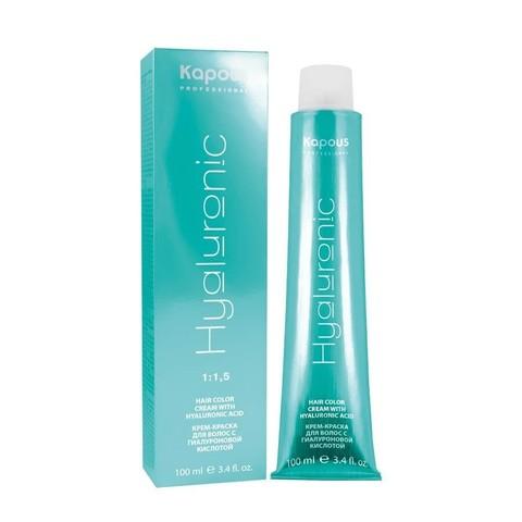 HY 10.02 Платиновый блондин прозрачный фиолетовый, крем-краска для волос с гиалуроновой кислотой, 100 мл