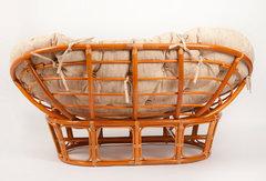 Диван Мамасан (MAMASAN 23/02 W) без подушки  (сognac (коньяк))
