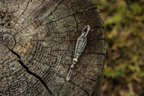 оберег Копоушка (с изображением валькирии)