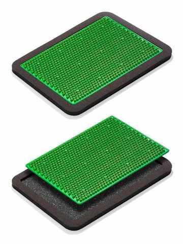 Аппликатор металломагнитный, 15х22, зелёный