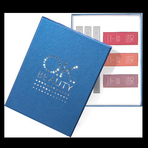 Подарочный набор OK Beauty Posh Berry NEW in BLUE