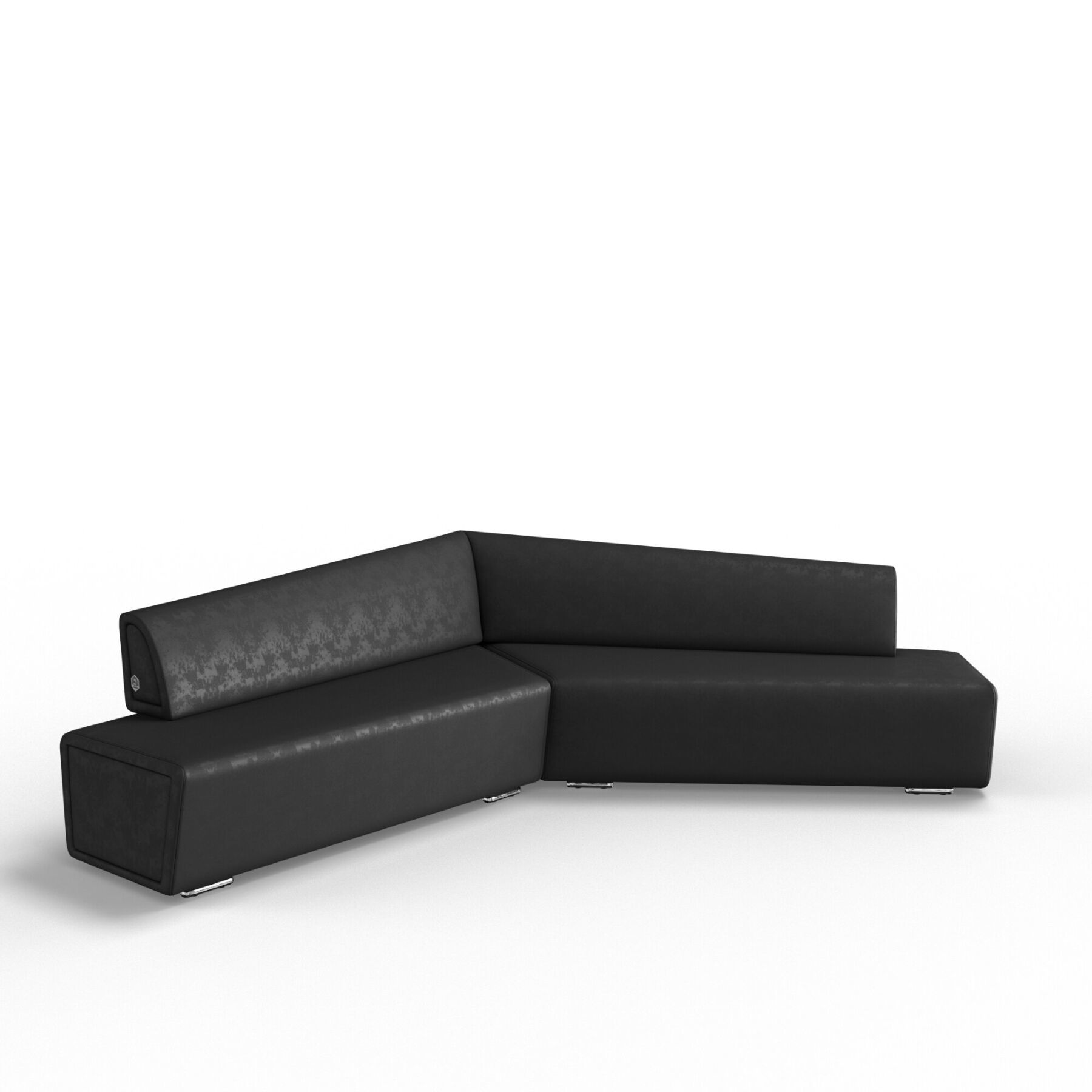 Трехместный диван KULIK SYSTEM COPTER Антара Левый и правый