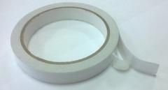 Лента клейкая двусторонняя на бумажной основе 15 мм*10 м.