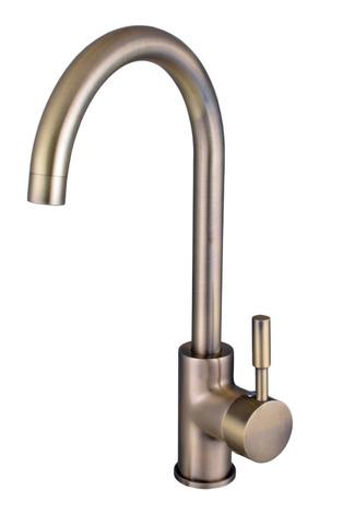 Смеситель для кухни Globus Lux LAZER GLLR-0203S-9-BRONZE
