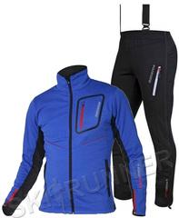 Элитный лыжный костюм Noname Activation Flow in Motion Blue мужской