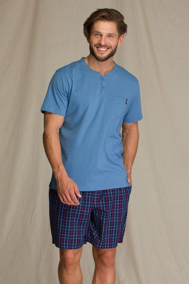 Пижама мужская с шортами KEY MNS 223 A21