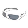 Очки солнцезащитные 2K IB-12062  (белый глянец / дымчатые зеркальные revo)