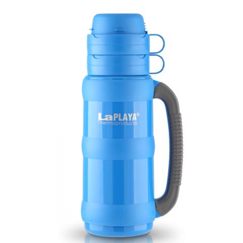 Термос LaPlaya Traditional 35-50 (0,5 литра) со стеклянной колбой, голубой