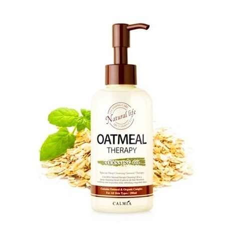 Calmia Oatmeal Therapy Cleansing Oil гидрофильное масло