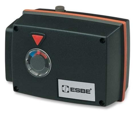 Привод поворотный Esbe 92P арт. 12550100 (15нм) 24В пропорциональный