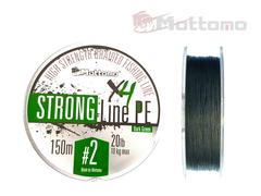 Плетеный шнур Mottomo Strong Line PE Dark Green #2.0/10kg 150m