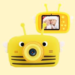 Фотоаппарат детский SmileZoom Пчёлка Желтая 20Мп+дисплей