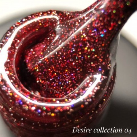 Гель лак DESIRE collection 04, 12 мл