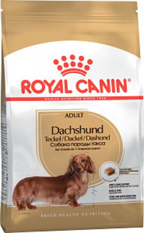 Royal Canin Dachshund Adult сухой корм для такс старше 10 месяцев
