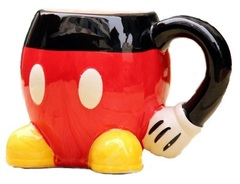 Дисней Кружка керамическая Микки Маус — Disney Mickey Mouse Сolors Cup