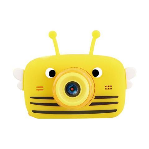 Фотоаппарат детский SmileZoom Пчёлка с селфи-камерой / Желтый