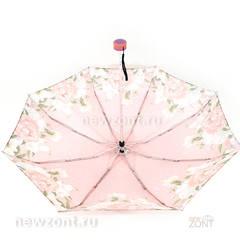 Молодежный зонтик для девушки с бело-розовыми цветами, Арт Райн