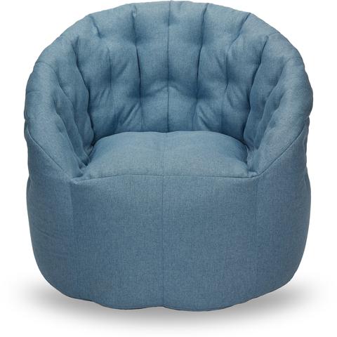 Бескаркасное кресло «Австралия», Небесно-голубой