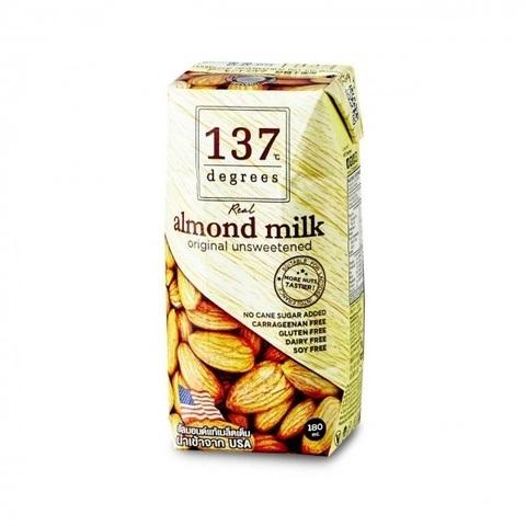 Миндальное молоко без сахара