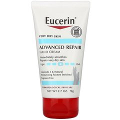 Krem \ Крем \ Cream  Advanced Repair Hand Creme, Fragrance Free, 2.7 oz (78 g)