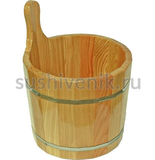 Шайка для бани Bentwood, 7 л (натуральный)