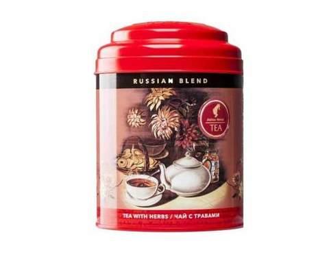 Чай зеленый с русскими травами листовой Jägertee Julius Meinl Русский Бленд