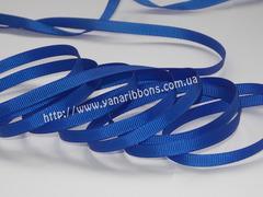 Лента репсовая синяя ширина 6, 9, 22 и 38 мм