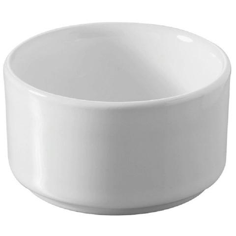 Фарфоровый рамекин, белый, артикул 640046, серия Basalt