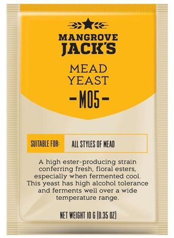 Дрожжи для меда Mangrove Jack's M05 Mead
