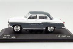 GAZ-21 Volga 1959 M-21 Wolga grey-white WhiteBox 1:43