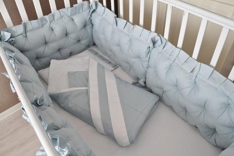 Комплект в кроватку Ричард, на 4 стороны кроватки