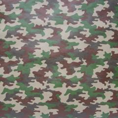 Упаковочная бумага Крафт Камуфляж, (0,72 х 10 м),  1 рулон.