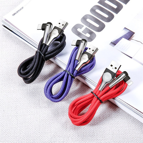 Кабель Baseus sharp-bird mobile game cable USB For iP 1.5A 2M Blue