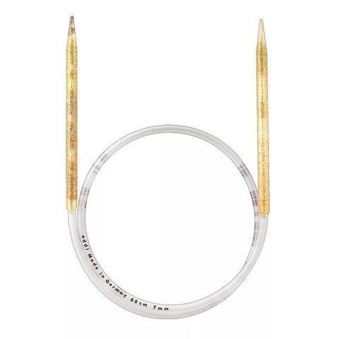 Спицы Addi  пластиковые круговые с гибкой леской 80 см, 12 мм