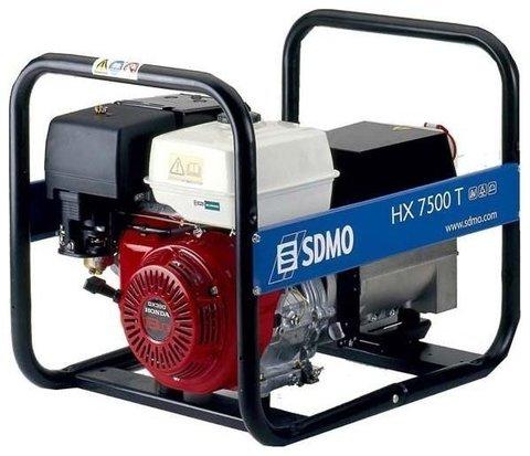 Кожух для бензиновой электростанции SDMO HX7500T