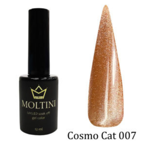 Гель-лак Moltini Cosmo Cat 007, 12 ml