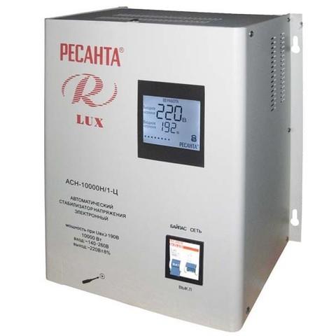 Стабилизатор напряжения Ресанта АСН LUX 10000 Н/1-Ц
