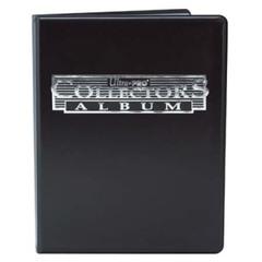 Ultra Pro - Чёрный альбом для хранения карт с листами 3*3 на 90+ карт