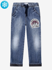 BWB000093 джинсы для мальчиков утепленные, медиум