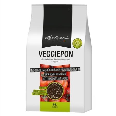 19591 Субстрат для овощей   Lechuza VEGGIEPON  6 L