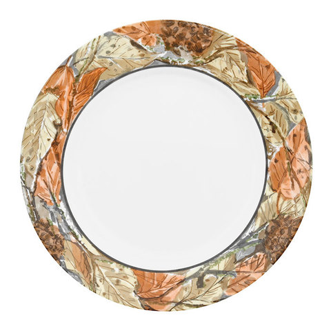 Тарелка обеденная 27 см Woodland Leaves, артикул 1109567, производитель - Corelle