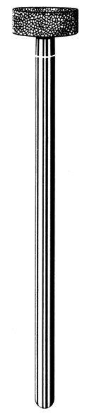 Лабораторные алмазные инструменты «SS WHITE» серия LAB 231/4080 Группа III. Средняя крошка.