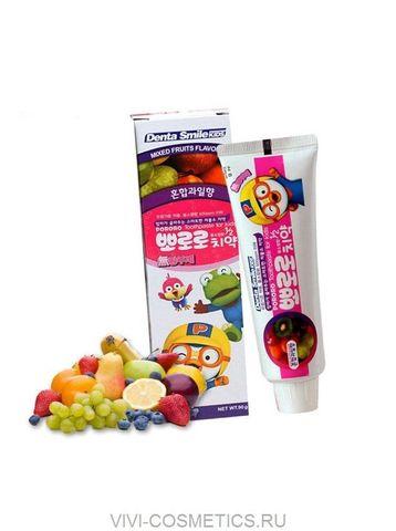 Детская зубная паста (киви) | DENTA SMILE kids Pororo (90g)