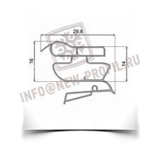 Уплотнитель 65.5*57 см для холодильника Индезит NBA 18T (морозильная камера) Профиль 022