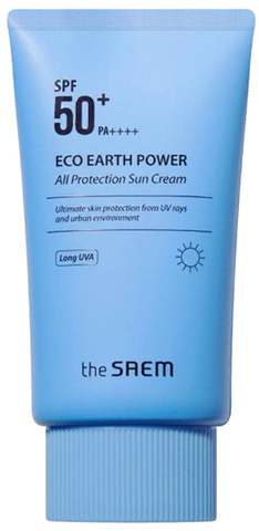 THE SAEM Eco Earth Крем солнцезащитный Eco Earth All Protection Sun Cream