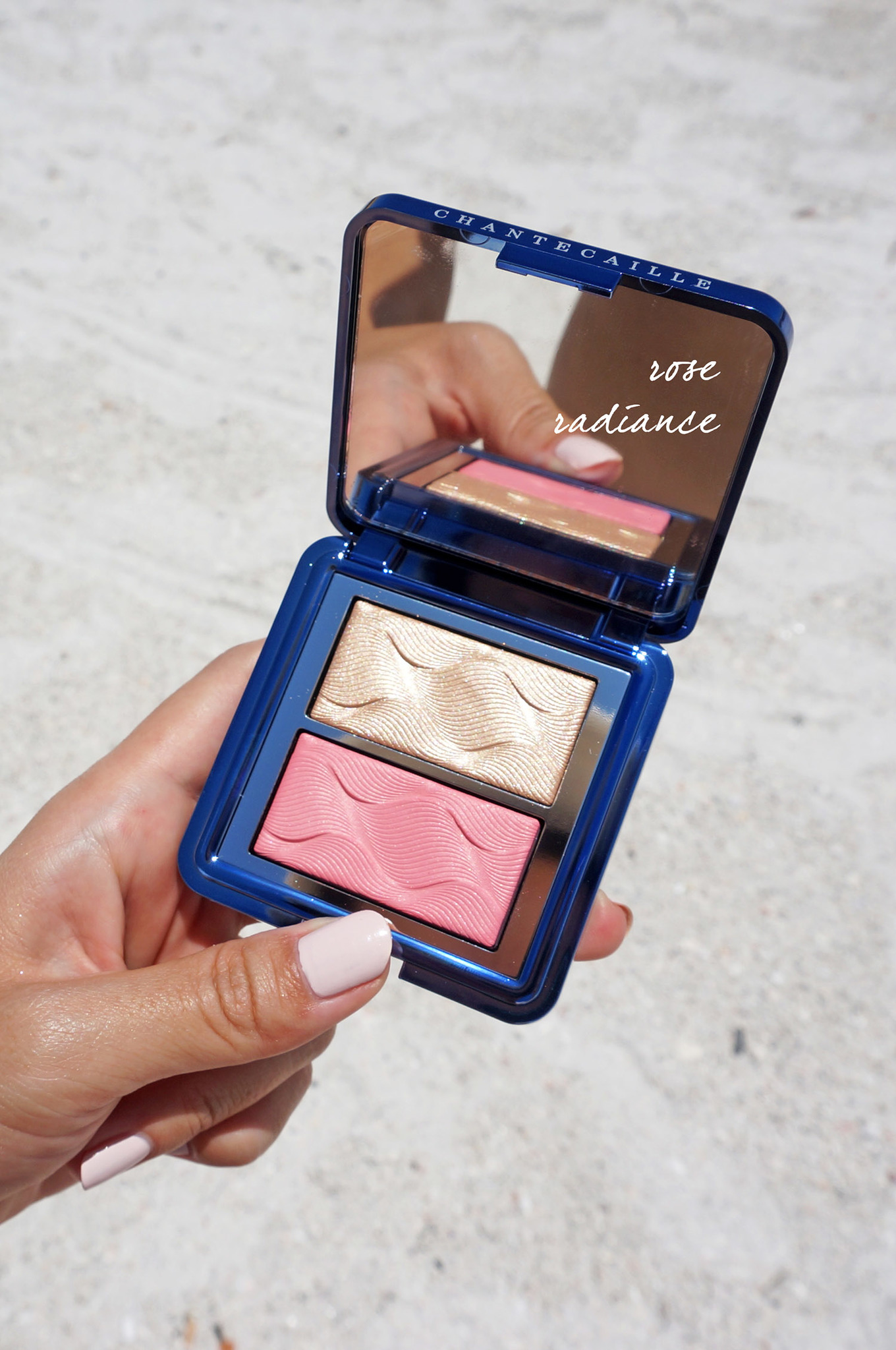 CHANTECAILLE Vibrant Oceans Radiance Chic Cheek And Highlighter Duo