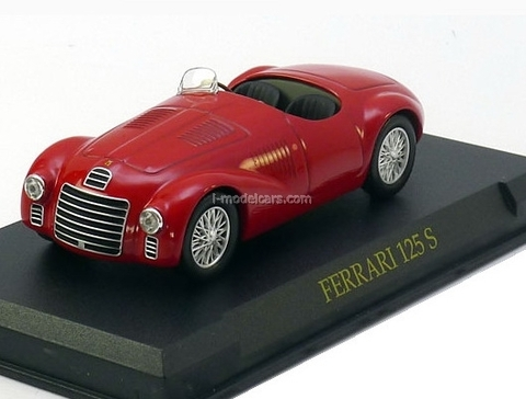 Ferrari 125 S red 1:43 Eaglemoss Ferrari Collection #23