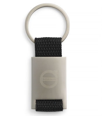 Брелок Volvo Key Ring, Satin Black